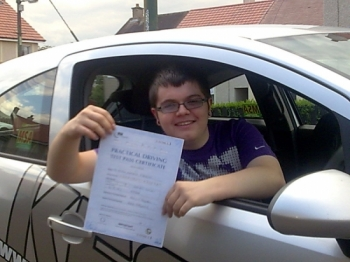 I passed both theory and driving tests FIRST TIME<br /> <br /> On the theory test I GOT 50 OUT OF 50 and on<br /> <br /> my driving test the examiner said the drive was at a very high standard